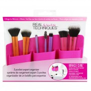 Real Techniques 3 Pocket Expert Organizer - Pink
