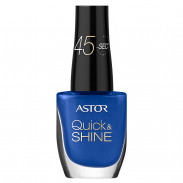 ASTOR Quick & Shine Nagellack 532 Striking Blue 8 ml