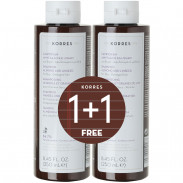 Korres 1+1 Set Almond & Linseed Shampoo 2 x 250 ml