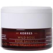Korres Wild Rose Regenerierende Nachtcreme für strahlenden Teint und erste Falten 40 ml
