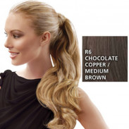 Hairdo Wrap Around Pony Wavy R6 Chocolate 57 cm