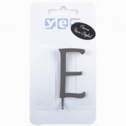 Solida Haarspange Buchstabe E