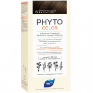 Phyto Phytocolor 6.77 Hellbraun Cappucino Pflanzliche Haarcoloration