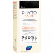 Phyto Phytocolor 1 Schwarz Pflanzliche Haarcoloration