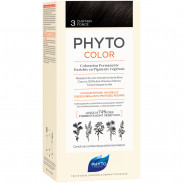 Phyto Phytocolor 3 Dunkelbraun Pflanzliche Haarcoloration