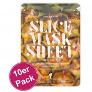 Kocostar Slice Mask Sheet Pineapple 10er Pack