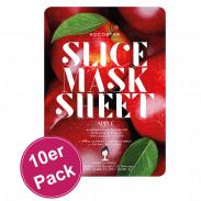 Kocostar Slice Mask Apple 10er Pack
