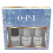 OPI Nussknacker Collection Top Coat Trio Set