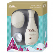 eos Lip Balm and Lotions Set White Edition