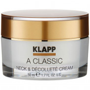 Klapp Cosmetics A Classic Neck & Décolleté Cream 50 ml
