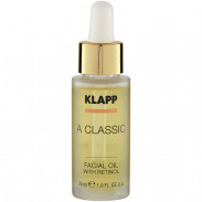 Klapp Cosmetics A Classic Facial Oil with Retinol 30 ml