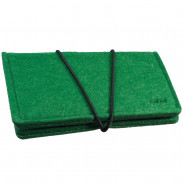 Canal Manikür-Etui Filz grün, unbestückt