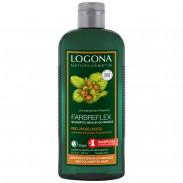 LOGONA Farbsreflex Shampoo Braun-Schwarz Bio-Haselnuss 250 ml