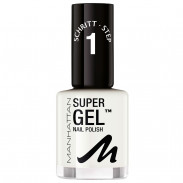 Manhattan Super Gel Nail Polish 135 In Love With White 12 ml