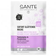 SANTE Sofort glättende Maske Teekomplex & Parakresse 2x4 ml