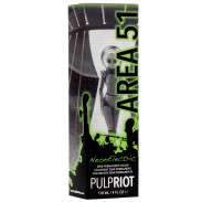 Pulp Riot Semi-Permanent Haarfarbe Neon Electric Area 51 118 ml