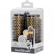 Olivia Garden Multibrush 4er Set 26/38 mm gelb