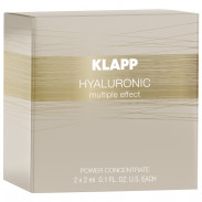 Klapp Cosmetics Hyaluronic Power Concentrate 2 x 2 ml