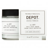DEPOT 401 Pre & Post Shave Cream Skin Protector 75 ml