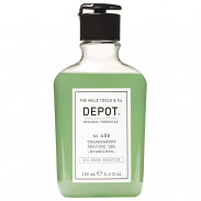 DEPOT 406 Transparent Shaving Gel brushless 100 ml