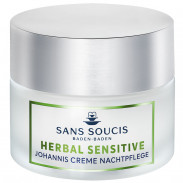 Sans Soucis Herbal Sensitive Johannis Creme Nachtpflege 50 ml