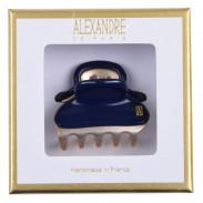 Alexandre de Paris Pince Vendôme Marine/ Gold