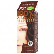 SANTE Pflanzenhaarfarbe - maronenbraun 100 g