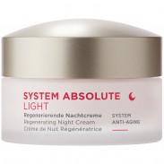 ANNEMARIE BÖRLIND SYSTEM ABSOLUTE Regenerierende Nachtcreme Light 50 ml