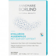 ANNEMARIE BÖRLIND Hyaluron Augenpads 6 Stk.