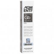 ALFAPARF MILANO Pigments Color Grey Black 6x8 ml
