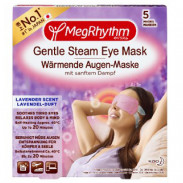 MegRhythm Wärmende Augen-Maske Lavendel-Duft 5 Stück