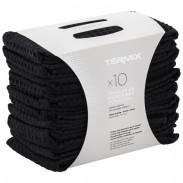 Termix Handtücher schwarz 10er-Pack