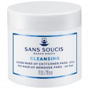 Sans Soucis Cleansing Augen Make-Up Entferner Pads 70 Stück