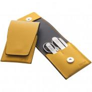 Canal Stecketui mit Magnetverschluss gelb, 4-teilig