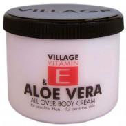 Village Vitamin E & Aloe Vera Bodycream 500 ml