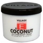 Village Vitamin E & Coconut Bodycream 500 ml