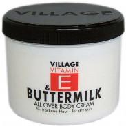 Village Vitamin E & Buttermilk Bodycream 500 ml