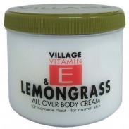Village Vitamin E & Lemongrass Bodycream 500 ml