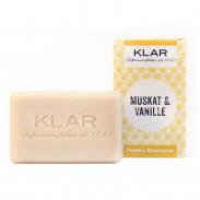 Klar's Festes Shampoo Muskat & Vanille 100 g