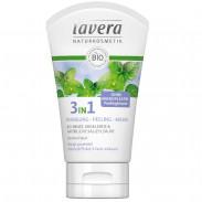 Lavera Minze 3in1 Reinigung - Peeling - Maske 125 ml