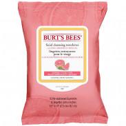 Burts Bees Facial Cleansing Towelettes Pink Grapefruit 30 Stück