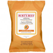 Burt's Bees Facial Cleansing Towelettes Peach & Willowbark Exfoliating 30 Stück