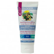 Badger Sunscreen Cream SPF30 Clear Zinc 87 ml