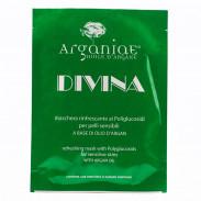 Arganiae Erfrischende Tuchmaske mit Polyglukosiden DIVINA