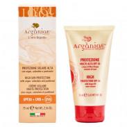 Arganiae Sonnencreme mit hohem Schutz SPF 30 auf Basis von Arganöl 75 ml