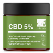 Dr. Botanicals Anti-Oxidant Stress Repairing CBD Sleep Moisturiser 60 ml