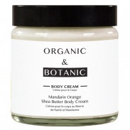 Organic&Botanic Mandarin Orange and Shea Butter Body Cream 100 ml