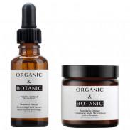 Organic&Botanic Mandarin Orange Facial Serum + Night Enhancing Moisturiser
