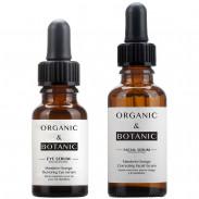 Organic&Botanic Mandarin Orange Restorative Eye Serum + Correcting Facial Serum