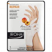 Iroha Repair Gloves Hand & Nail Mask Peach